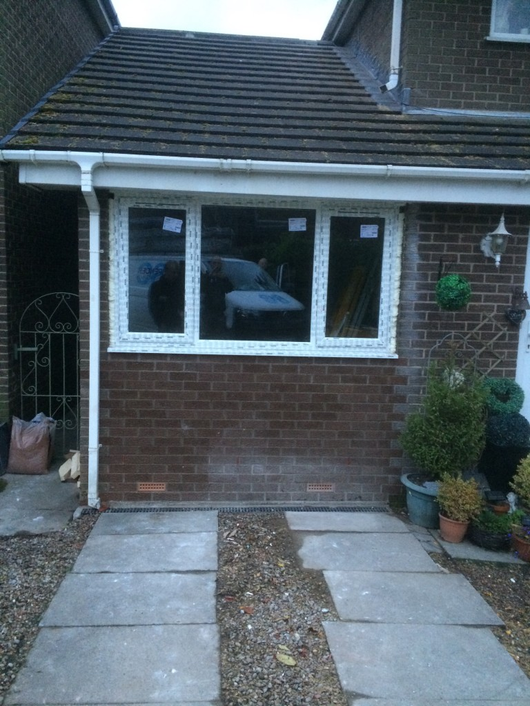 Single to double storey extension with ensuite - before 1